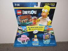 "LEGO DIMENSIONS LEVEL PACK - SIMPSONS ""BNIB"""