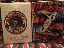 SEALED Grateful DEAD   ** Vintage PLAYING Card SET **  Jerry GARCIA RARE & VHTF