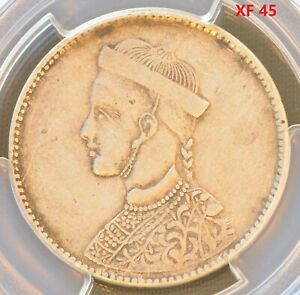 1911-1933 China Szechuan-Tibe Silver One Rupee Coin PCGS Y-3.2 L&M-359 XF 45