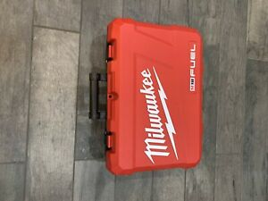 Box/case only Milwaukee 2997-22 FUEL M18 Hammer Drill/Impact Driver Case ONLY