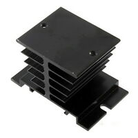 New Aluminum Heat Sink For Solid State Relay SSR Small Type Heat Dissipation BE