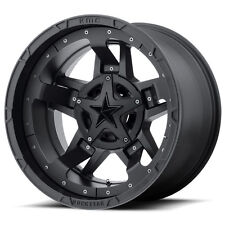 "18"" XD XD827 Rockstar 3 Black Wheels Rims 8x180 Chevy GMC 8 lug 2011 and up"