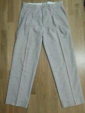 lotto 644 pantalone pantaloni classici donna grigio uomo vita 44 cm h.103 cm