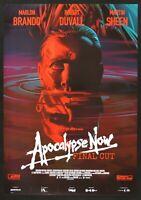 Werbeplakat Apocalypse Now Final Cut Francis Ford Coppola Marlon Brando Kino P06