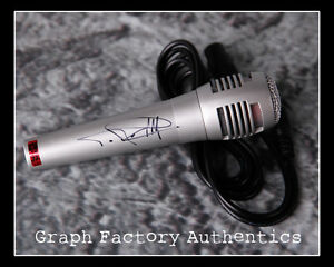 GFA Clifford Tip Harris RAPPER T.I. Signed New Microphone AD1 COA