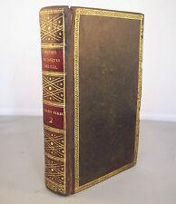 PARADIS PERDU traduit par JACQUES DELILLE T2 / GIGUET 1805 RELIURE CUIR