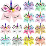 Kids Girls JOJO Unicorn Hair Bow Pin Alligator Clip Hairpins Bow Knot Party Gift