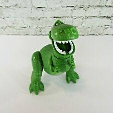 Disney Toy Story 3 Deluxe Jump Attack REX Figure Jumping & Biting Action