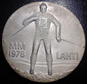 Finland - 25 Fmk Silver 1978 Games Winter Of Lahti & Original Case, ! Km# 56