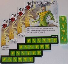 4 x WEATHER WIZARD: DARK CLOUDS 38 Green Arrow and The Flash Dice Masters