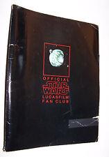 Vintage Star Wars Fan Club Portfolio Kit - Revenge of the Jedi - Bantha Tracks