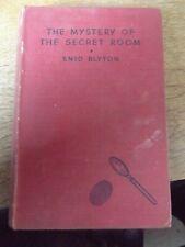 THE MYSTERY OF THE SECRET ROOM BY ENID BLYTON 1950 HARDBACK BOOK