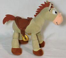 "Toy Story Bullseye Disney Parks Poseable 10"" Tan Horse Plush"