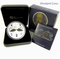 2014 WILLIAM SHAKESPEARE 450th Anniversary 5oz Silver Proof Coin