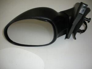 2002 DODGE NEON DRIVER SIDE DOOR MIRROR POWERED BLACK TEXTURED NEW AFTERMARKET!!