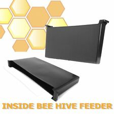 4L Black Plastic Inside Bee Hive Feeder Beekeeping Tool for Honey Bee Keepers
