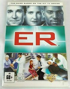 ER THE PCCD GAME BASED ON THE HIT TV SERIES PCCD RARE ER SERIES CLOONEY.
