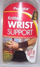 Pure-Aid Knitted Wrist Support LG/XL 2 supports per pack