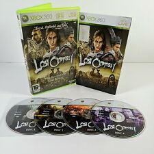 Lost Odyssey Xbox 360 Adventure Video Game Manual PAL 3 disc case