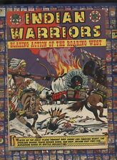 iNDAIN WARRIORS LB cole cover stunning VF 8.0  1953 Golden Age WESTERN comic