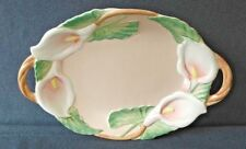 Vintage 1988 Fitz and Floyd Decorative Floral Wall Hanging Plate