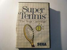Super Tennis - Sega Master System - Sans Notice - Occasion