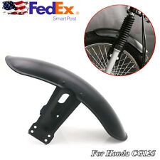 Metal Motorcycle Retro Front Fender Protector Mudguard For Honda CG125 US Stock