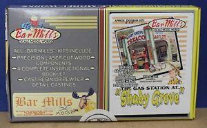Bar Mills 0552 HO Texaco Gas Station at Shady Grove Laser Cut Craftsman kit NIB