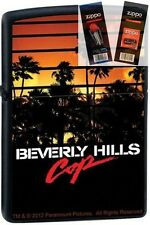 Zippo 9209 beverly hills cop movie Lighter with *FLINT & WICK GIFT SET*