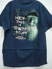 New Men's Duck Dynasty T-Shirt Dark Teal Blue Size Large #120H