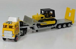 "Majorette Super Movers Ford CL-9000 8"" Diecast Scale Model Bulldozer Transport"