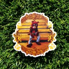 Kanye West vinyl sticker - The College Dropout album art
