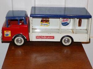 Vintage Ny-Lint Pepsi Cola Pressed Steel Truck