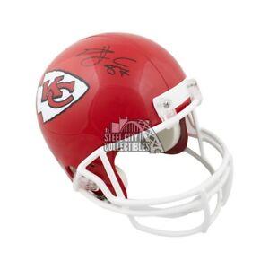 Travis Kelce Autographed Kansas City Chiefs Full-Size Football Helmet - JSA (A)