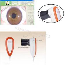 Di alta qualità 5.0MP USB fotocamera iriscope Analizzatore IRIDOLOGIA DSP processore d'immagine
