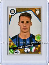 """RARE !! ROOKIE Sticker ANDREA PINAMONTI """"FIFA 365 2017"""" Panini"""