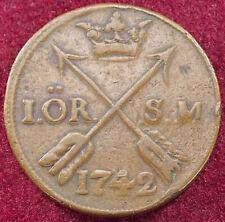 More details for sweden 1 ore 1742 (g0203)
