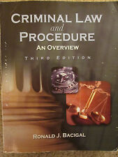 Criminal Law and Procedure - 3rd Edition - Ronald J. Bacigal