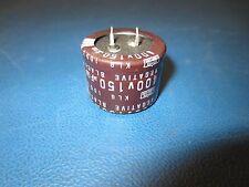NIPPON,KLG400VNSN151M35X25L, CAP ALUMINUM LYTIC 150uf  400V 20%  SNAP-IN (NEW)