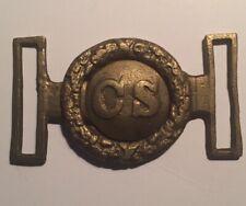 Civil War Cast Brass Sword Belt Buckle (Repo) I Think