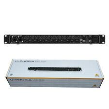 Behringer UMC1820 U-PHORIA Audio/MIDI Interface MIDAS Mic Preamplifiers
