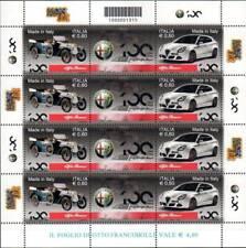 2010 italia repubblica Foglietti Made in Italy Alfa Romeo 9° emissione