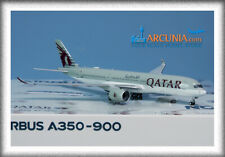"""NG Models 1:400 Qatar Airways Airbus a350-900 """"A7-AME"""" 39015"""
