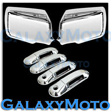 06-10 FORD EXPLORER Chrome Mirror+4 Door Handle With Passenger Keyhole Cover