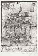Sascha JURITZ - TAG- & NACHTWÄCHTERCHEN - HandSignierte OrigLithographie 1985