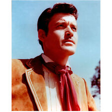 Guy Williams as Zorro Don Diego de la Vega Looking On Outside 8 x 10 inch photo