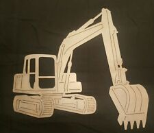 Excavator Laser Cut / Plasma Cut Garage Sign