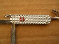 "Victorinox Classic SD Swiss Army knife in Alox - ""Victorinox"" on panel"