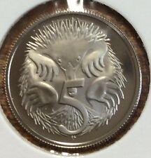 1976 5 cent proof coin