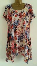 Evans Short Sleeve Classic Floral Tops & Shirts for Women